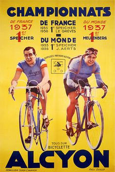 Wish Le tour de France would make posters like this these days