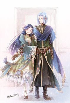 Ascendance of bookworm Anime Couples Drawings, Anime Couples Manga, Cute Anime Couples, Kawaii Anime, Chica Anime Manga, Fanarts Anime, Anime Characters, Anime Art Girl, Manga Art