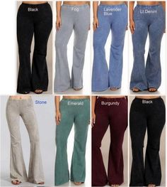 1981917c8f8 Chatoyant Mineral Wash Bell Pants Plus Sizes Many Colors. Debra s Passion  Boutique