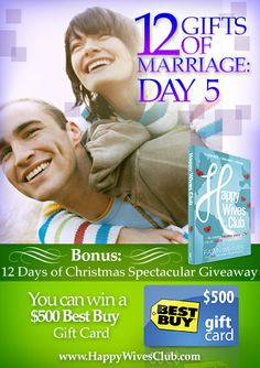 12 Gifts of Marriage: Day 5 Creating History {bonus: 12 Days of Christmas Giveaway} Click to Read and Enter the Giveaway!