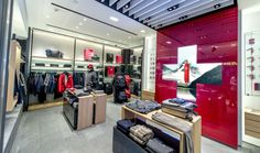 Instore-TV by netvico at Victorinox in Shanghai