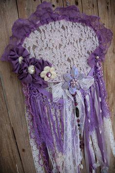 Dream Catcher Dreamcatcher Purple Wedding Boho Dream