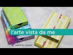 Scatole scrap/Matchbox tutorial con Envelope punch board -Scrapbooking tutorial - YouTube