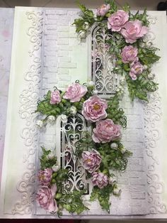 Cascading Floral layout by anitak160 - Cards and Paper Crafts at Splitcoaststampers