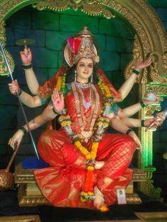 Kali Hindu, Durga Maa, Happy Ganesh Chaturthi Images, Clay Ganesha, Ganesh Photo, Supergirl Comic, Mata Rani, Shree Ganesh, Puja Room