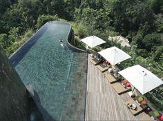 As piscinas mais bonitas do mundo: Ubud Hanging Gardens, by Orient Express, Bali, Indonésia