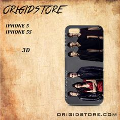 Vampire Diaries and Supernatural For Iphone 5/5S Snap On and 3D Case