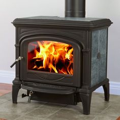 "$2849 Hearthstone Soapstone Phoenix 8612, heats up to 2,000 sq ft, burn time 8 hrs, heat life 12 hours, 21"" log,"