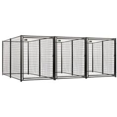 Akc Jewett Cameron Pro Breeder Kennels With A Common Wall, 5 by 10 by 6-Feet, 3-Run - http://www.thepuppy.org/akc-jewett-cameron-pro-breeder-kennels-with-a-common-wall-5-by-10-by-6-feet-3-run/