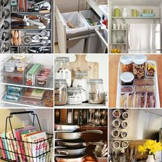 Kitchen Organization Ideas from @D Alfonso- I need her to come to my house!!
