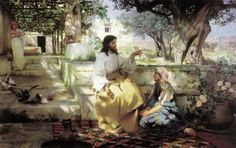 Sitting at the Feet of Jesus | Mary Sitting At Jesus' Feet