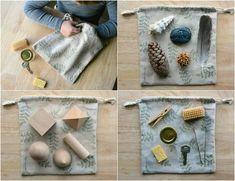 sacchetto dei misteri montessori