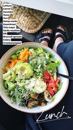 salad lunch legs mushrooms avocado salad lunch legs mushrooms,avocado salad lunch legs mushrooms, 12 Healthy Summer Salads to Make When the Heat Is Just Too Much Awesome Meal Prep Healthy Meal Prep, Healthy Snacks, Healthy Eating, Vegetarian Recipes, Healthy Recipes, Pescatarian Recipes, Diet Recipes, Tofu Recipes, Lunch Recipes