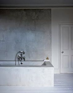 Bad i betong / Concrete bathroom