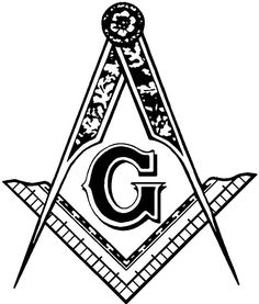 There are a large number of masonic carvings on many stone faces and surfaces, notably the masonic compass, the single most important symbol used within freemasonry. Description from hubpages.com. I searched for this on bing.com/images