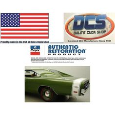 1969 Dodge Charger R/T 3pc Rear White Tape Stripe Kit NEW MoPar USA Listing in the Mouldings & Trim,Exterior,Cars Parts & Accessories,Parts & Accessories,Cars & Vehicles Category on eBid United States | 161274199