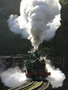 Puffing Billy Steam Train, Victoria, Australia by glenn anthony johns, via Flickr