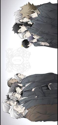 Katekyo Hitman Reborn, (B) Nono Timoteo, (U) Decimo, Tsunayoshi (+Guardians)