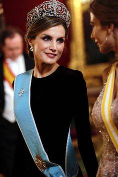 Cena de Gala en el Palacio Real en honor a Mauricio Macri y Juliana Awada
