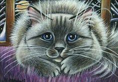 Ragdoll Cat Painting