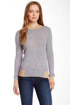 Mandy Wool Cashmere Blend Sweater by Tory Burch on @HauteLook