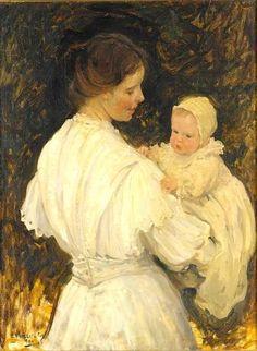 Emanuel Phillips Fox (1865 -1915) Australian Impressionist Painter