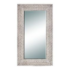 Benzara - Classic and Contemporary 86 Inches High Polyurethane Frame Mirror Home Decor - Classic and contemporary inspired 86 inches high polyurethane frame mirror living and family room home accent decor