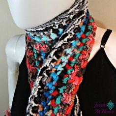 Basic Boho Crochet Scarf