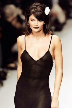 Helena Christensen - Chanel Fall/Winter 1995