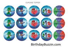 PJ-Masks-Cupcake-Toppers-watermarked-1.jpg (877×620)