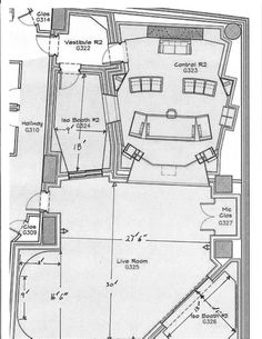 music studio plan - Google Search