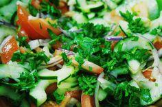 Shepherd's Salad | Suitcase Foodist