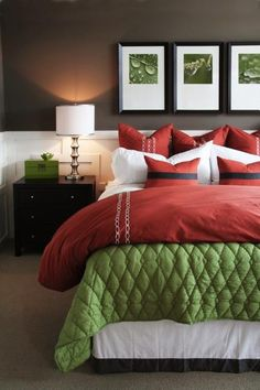 Deep purple, dark pink, mauves, lilac, peach, and soft greens make beautiful complementary color schemes for modern interior design