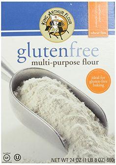 King Arthur Flour Multipurpose Flour, Gluten Free, Natural Certified Gluten Free Shelf Stable No additives; No preservatives; No artificial flavors Gluten-free Wheat-free; Gluten Free Grains, Gluten Free Flour, Gluten Free Baking, King Arthur Flour, Baking Supplies, Baking Ingredients, Gourmet Recipes, Free Recipes, Easy