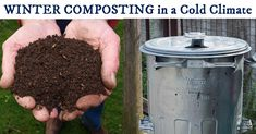 The end of the warm season shouldn't stop you from keeping compost. You can save those fruit and vegetable scraps for your garden all winter long. It's easy in a cold climate.
