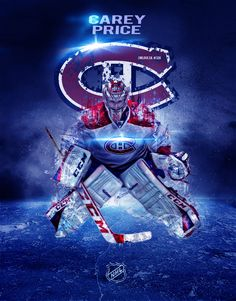 Carey Price 4 Goalie Gear, Goalie Mask, Hockey Goalie, Hockey Teams, Montreal Canadiens, Mtl Canadiens, Hockey Posters, Hockey Pictures, Sports Graphics