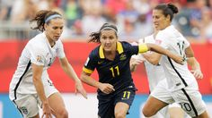 Lisa De Vanna of Australia in action during the FIFA Women's World Cup Canada