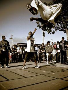 Break dancing San Francisco