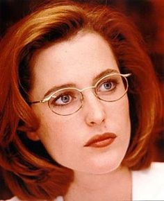 Gillian Anderson as FBI Ageny Dana Scully (X-Files, TV show and movies)