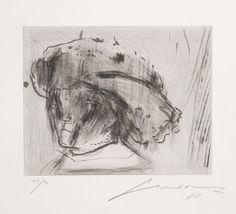 Aguafuerte Y Aguatinta Cuevas - Portrait Of Rembrandt As A Child