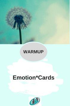 Einstieg in den Workshop, Feedbackrunde am Ende des Workshops, im Einzelsetting... Emotion*Cards sind ein Super*Tool _________________________________________________ #tools #toolbox #workshops #warmup #moderation #coaching #coach #berater #seminar #methode #methodenkoffer Emotions Cards, Pinterest Profile, Tool Box, Super, Coaching, Workshop, Tutorials, Tips, Training