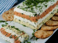 photo of Four Layer Cheese Terrine