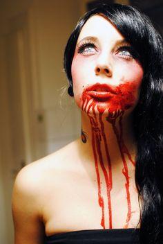 Bloody Halloween Makeup Ideas