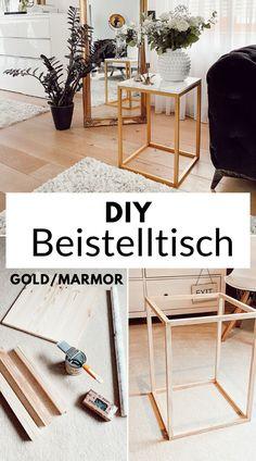 Handmade Home, Fall Home Decor, Diy Home Decor, Deco Studio, Diy Furniture Table, Diy Tisch, Gold Diy, Diy Interior, Furniture Styles