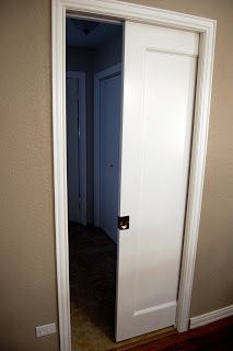 Step-by-Step guide to installing a Pocket Door in an existing wall without removing drywall on one side!