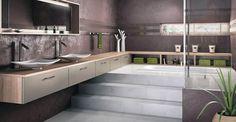 salle de bain ethnique et moderne