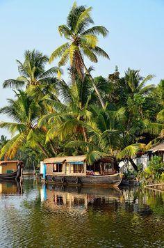Backwater of Kerala, Alleppey