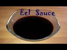 Eel sauce (salsa de anguila) - YouTube Diy Sushi, Salsa Dulce, Sauce, Tableware, Youtube, Food, Mayonnaise, Sweets, Kitchens