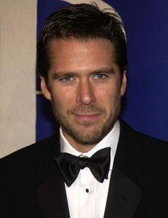If only he weren't married! Looking all Pierce Brosnan-y!