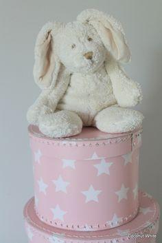 Coconut White: Pink star boxes #rhbabyandchildmothergiveaway